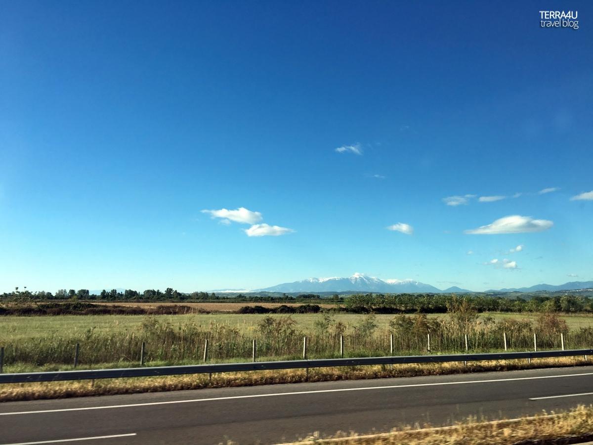 Дорога Салоники-Кастория