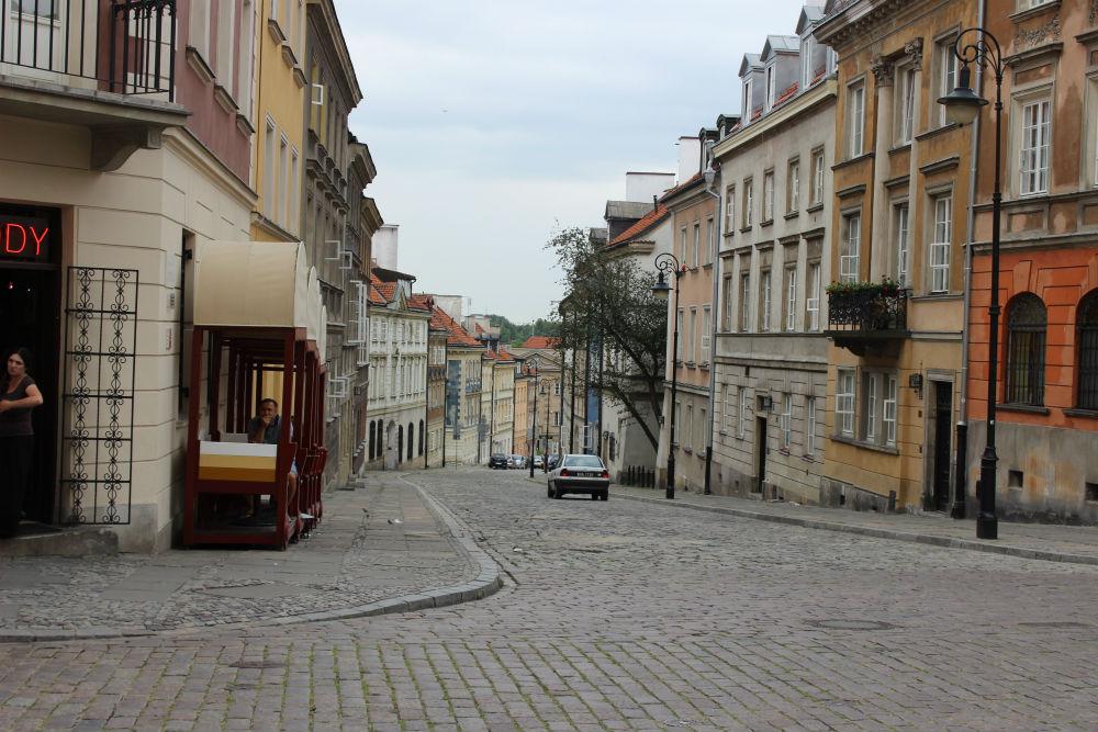 Варшава. Старый город. Улочки